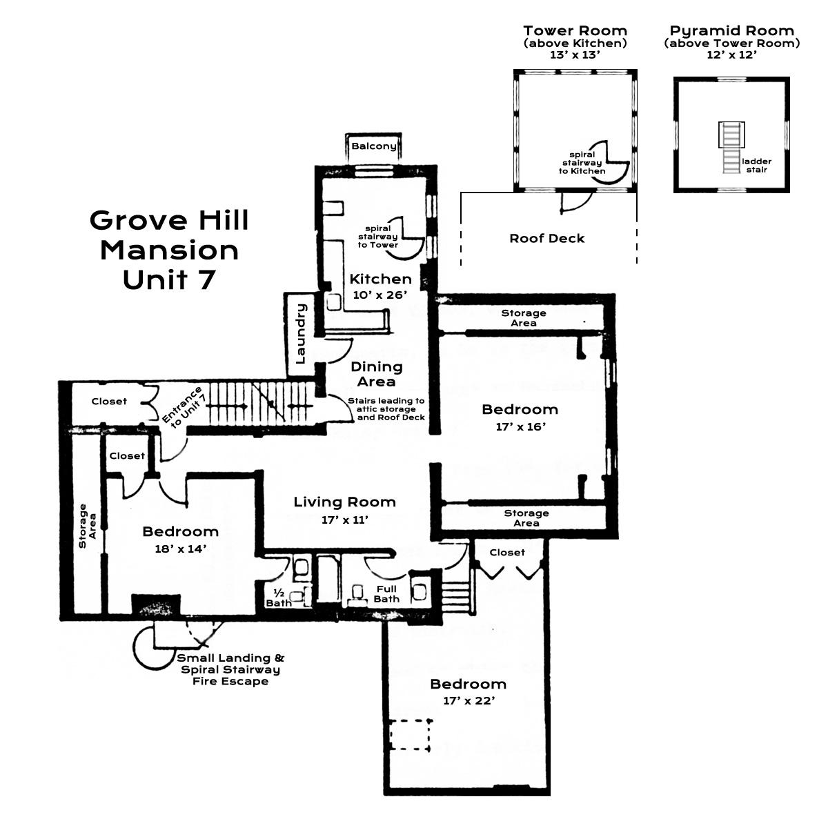 Mansion Grove Apartments: Grove Hill Mansion Condominium For Sale